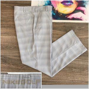 NIKE Dri-Fit Mens Golf Pants Size 34 x 32 Casual
